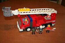 Playmobil Fire Engine Ladder Truck Firefighter 1996 3879