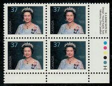 Canada #1162 37¢ Queen Elizabeth II LR Inscription Block MNH