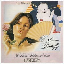 CAMARATA Glorious Music Puccini Madame Butterfly CD oz 1989 opera for orchestra