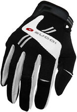 Sugoi Evolution Full Finger Bike Bicycle Cycling Gloves Black/White - Small