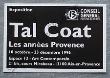 Publicité Expo TAL COAT Aix en Provence 1996 french advert
