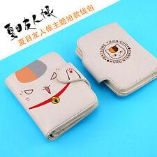 Natsume Yuujinchou Nyanko-Sensei Cat Teacher Cute Wallet PU Purse Gift
