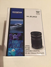 Olympus M.Zuiko 40-150mm f/4.0-5.6 R Micro ED Digital Zoom Lens (Black) New!