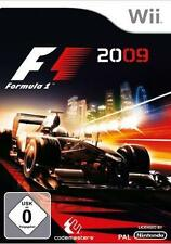 F1 FORMULA ONE 2009 (Wii) & U=OFFICIAL F 1 RACING CARS+TEAMS+TRACKS+HAMILTON -GC