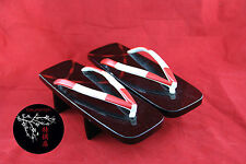 GETA Chaussures Japonaises 225mm HANDMADE Traditional Japanese Shoes NEUF NEW