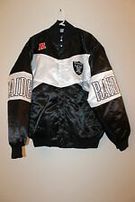 New NFL Oakland Raiders polyester jacket men's XL