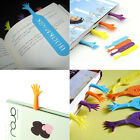 Personality 4Pcs Novelty Creative Colorful Help Me Bookmarks Label Bookworm