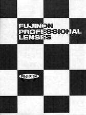 Fujinon Large Format Lens Catalog and Price List 1977:  2 Items