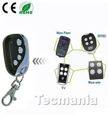 Nice FLOR-S / FLO4R-S Self Learning Replacement Remote Control Fob 433.92 MHz