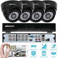 8 Channel H.264 960H/D1 DVR Security System + 4x 800TVL IR-CUT CCTV Cameras S3M1