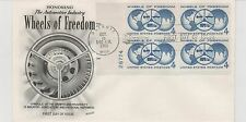 First day issue, 1960, Wheels of Freedom, 4 cent, Scott Catalog # 1162