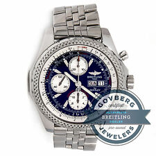Breitling Bentley GT Special Edition A13362 Automatic Steel Bracelet Watch Date