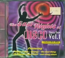 The Last Nights Of Disco Vol. 1 - Gino Soccio/Chic/Dan Hartman/Sylvester Cd Vg