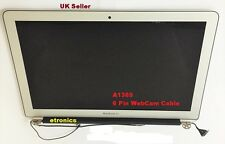 Apple MacBook Air 13 A1369 LCD Screen Display Panel 6Pin WebCam Cable 2013