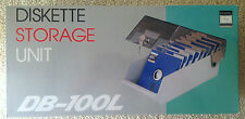 "Retro 5¼"" Disk Storage Unit *Brand New in Box* Vintage NOS *See Photos*"