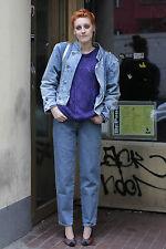 Ernesto Italy Damen Jeans Jacke jacket blau blue 80er True VINTAGE 80´s women