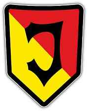"Jagiellonia Bialystok FC Poland Football Soccer Car Bumper Sticker Decal 4""X5"""