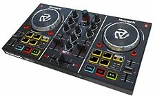 Professional DJ Controller Built-In Sound Card Party Music Mixer Starter Box Kit