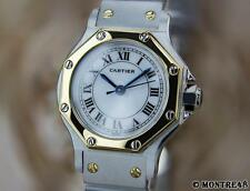 Cartier Santos Swiss Made Ladies 18k Gold  Stainless Steel Automatic Watch J111