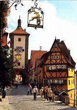 Rothenburg ob der Tauber , Plönlein ,AK 2000 gel.