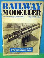 RAILWAY MODELLER APRIL 1980 # CHILTERN GREEN 2mm / N SCALE LAYOUT   SEE PICS