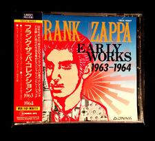 1992 FRANK ZAPPA EARLY WORKS JAPAN MONO PROMO CD 18 PG LYRICS BOOKLET OBI DONNA