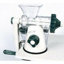 NEW OPEN BOX ~ Green & White Healthy Juicer Manual Wheatgrass Juicer