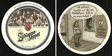 """Bierdeckel """"Autobahn-Vignette"""" Eder & Heyland`s Brauerei Großostheim Bayern"""