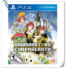 PS4 Digimon Story Cyber Sleuth ENGLISH  SONY PLAYSTATION Bandai Namco Games RPG