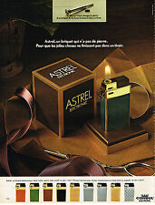 PUBLICITE ADVERTISING 015  1973  ASTREL ELECTRONIC  briquets CONSUL