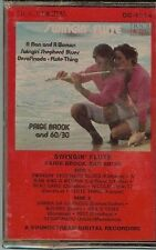 SWINGIN' FLUTE - PAIGE BROOK AND 60/30 - CASSETTE TAPE - NEW