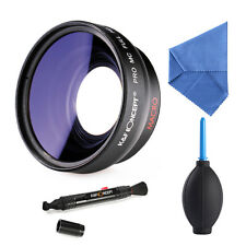 58mm 0,45X Wide Angle Macro Weitwinkel Objektiv for Canon EOS 1100D 550D 600D