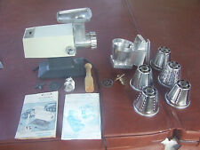 Rival Grind O Matic Electric Meat Grinder & Vegetable Chopper 2100M & attachment
