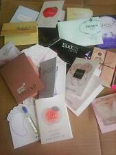 Womens Designer  Perfume Samples x 20 - Party / Wedding  Favours - FREE P&P