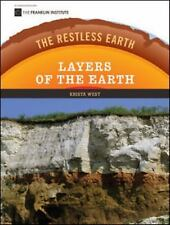 Layers of the Earth (Restless Earth (Hardcover))-ExLibrary
