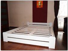 Doppelbett Bettgestell 140x200 weiß Bett Massivholz weiss  jungenbett jugenbett