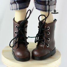 1/6 BJD Shoes Yosd Brown Boots Dollfie DREAM DOD SOOM DIM MID Dollmore AOD Shoes