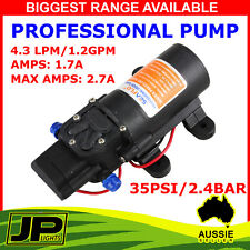 12V WATER PUMP 4.3LPM SELF PRIMING CARAVAN CAMPER JAYCO,OFFROAD TRAILER CAMPING