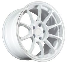 17X9 AodHan AH06 5X114.3 Rims +35 Matte White Wheels (Set of 4)