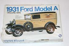 Entex 1:16 1931 Ford Model A Deluxe Van #9016 - Open Box - Bags sealed