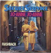 """SECRET SERVICE - Jo-Anne Jo-Anne - VINYL 7"""" 45 ITALY 1983 NEAR MINT COVER VG+"""