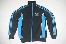 Adidas Sweat Jacket Athletic Men S NEW Black Blue