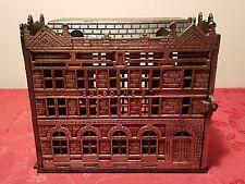 Antique 1891 Cast Iron Traders Savings Bank of Canada Bank - Rarest Trader Bank