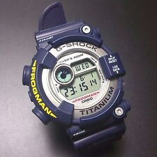 G-SHOCK  DW-8200NK-2JR MEN IN NAVY RARE BLUE FROGMAN
