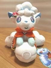 Pokemon Center SAPPORO Anv Limited Alola Vulpix sun moon Plush Doll Mascot Japan