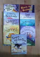 FERGUS THE SEA DOG PLUS EIGHT OTHER TITLES FROM PICCADILLY PRESS - NEW