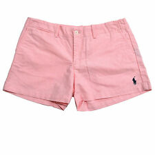 Polo Ralph Lauren Shorts Womens Sport Walking Chino 3.5 Inch Inseam Pony Logo