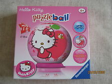 Hello Kitty PuzzleBall by Ravensburger 72 Piece 6+ Yrs 4005556121359
