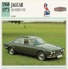 1968-1973 JAGUAR XJ6 Series One Classic Car Photograph / Information Maxi Card