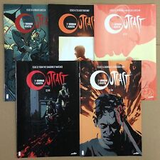 Outcast 1 2 3 4 5 6 7 8 9 10 11 thru 24 Lot set run Image 1st prints Kirkman